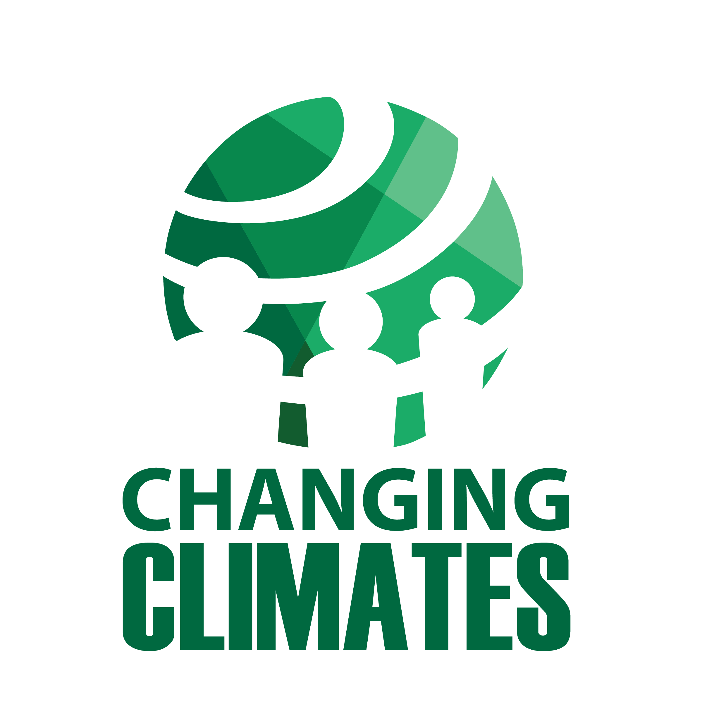 Logo for the 2018-2019 theme Changing Climates Full