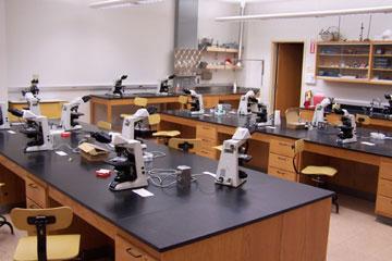 Illinois Wesleyan: Department of Biology - Teaching Laboratories