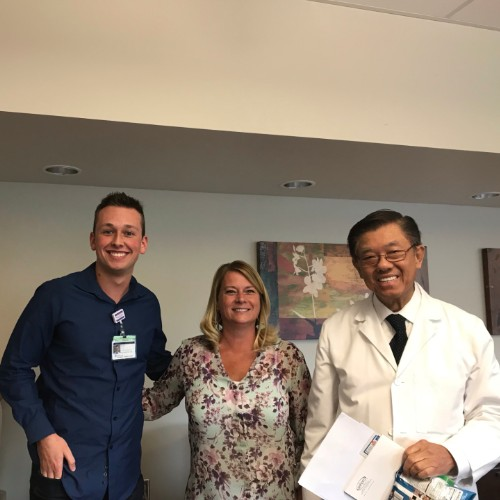 kyle with supervisor and doctor