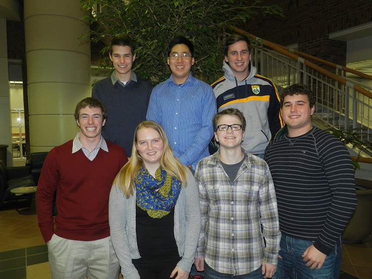 2014 student research group