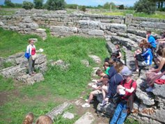 Amy Lectures At Paestum
