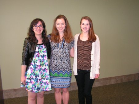 2015 English Department Writing Contest Winners