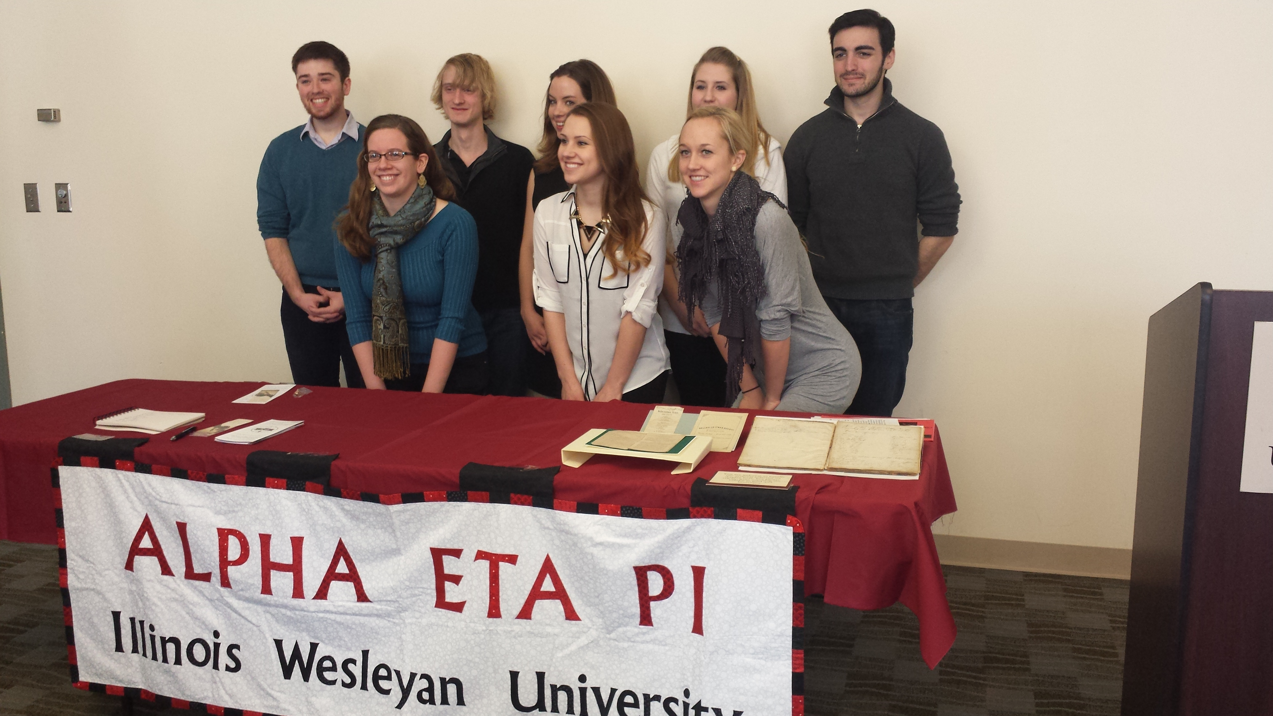 2014 Sigma Tau Delta New Members