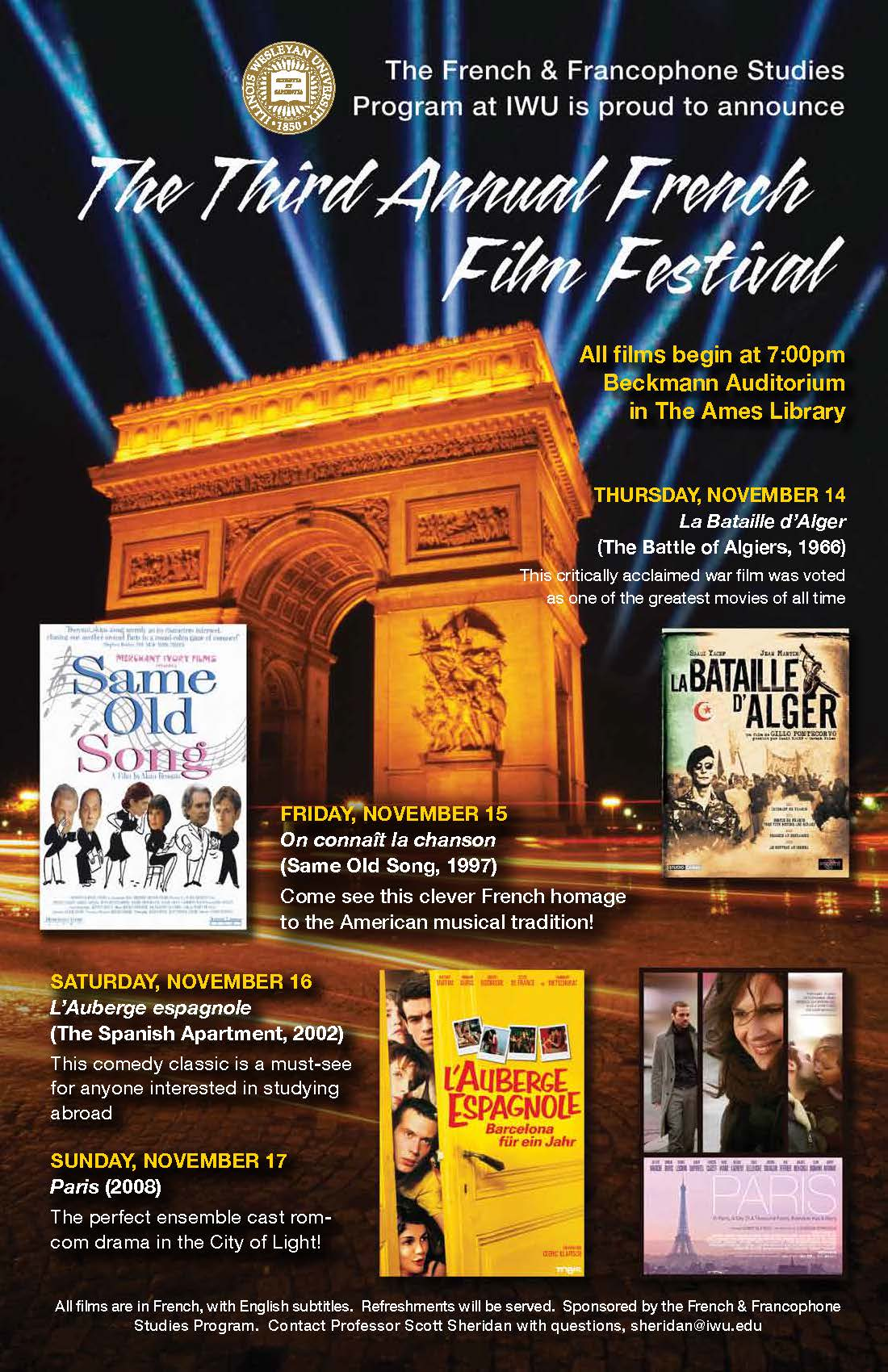 French Film Series 2013