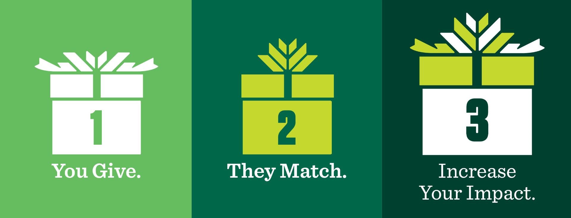 matching gifts increases donor impact