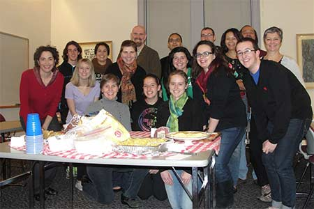 Spanish Club and Hispanic Studies faculty potluck