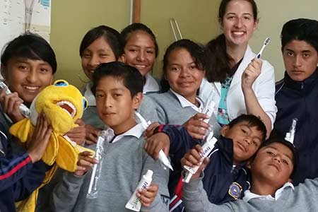 Katie Rothas ('14) on her customized study abroad semester in South America
