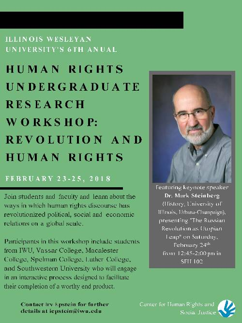 Human Rights and Social Justice Research Workshop 2018