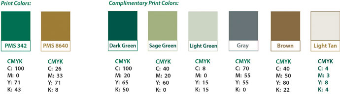 color palette - Green And Gold Color Scheme