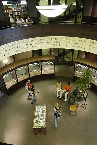 Ames Library Rotunda