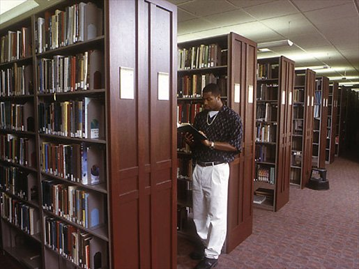 Ames Library Stacks