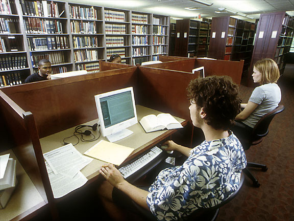 Ames Library Scholarly Workstations