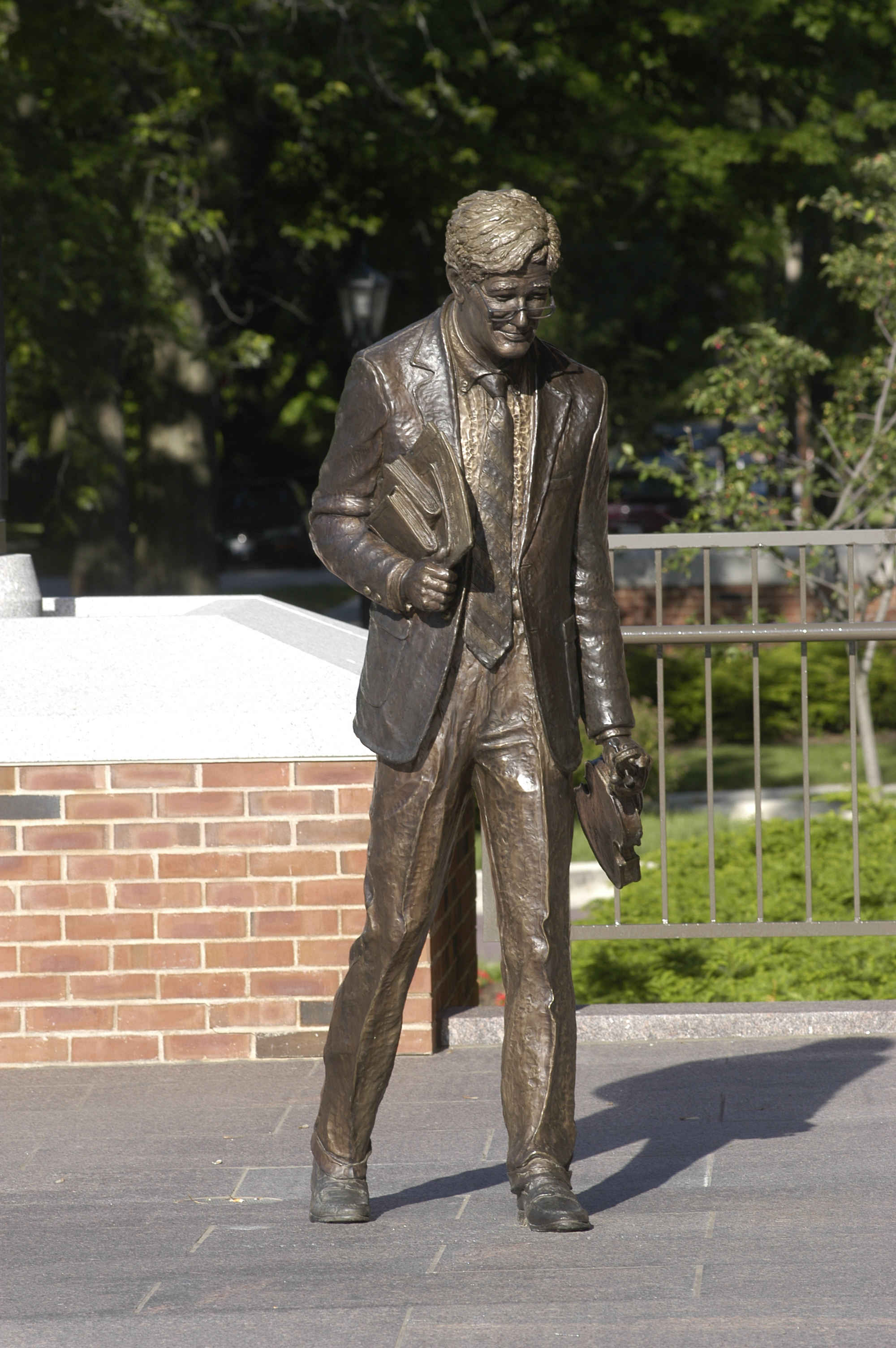 Statue of The Late Minor Myers, Jr.
