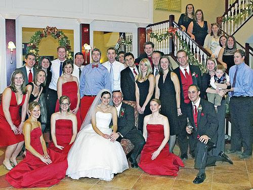 illinois wesleyan iwu magazine winter 2009 weddings