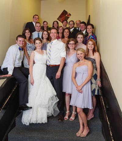 Emily burnett wedding