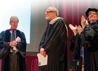 Bushnell at Honors Day Convocation 2013