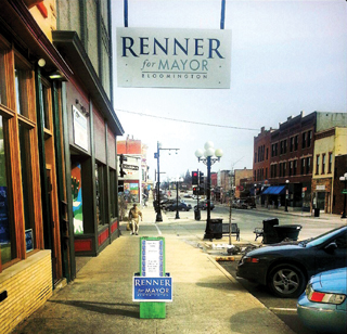 Renner for Mayor headquarters