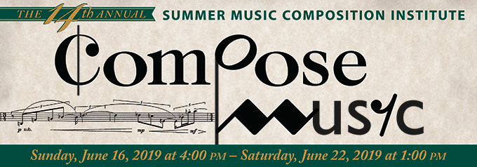 Summer Music Composition Institute/Camp | Illinois Wesleyan