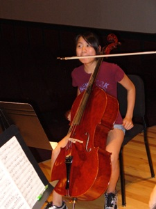 fun cellist