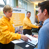 Students Work to 'Wow' Employers at Internship Fair