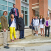 Illinois Wesleyan Dedicates Kemp Commencement Plaza