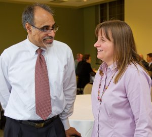 Narendra Jaggi and Rebecca Roesner