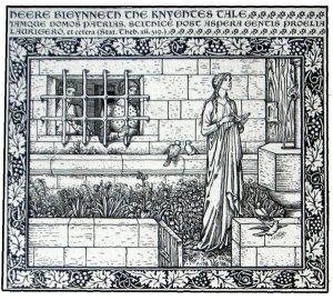 Chaucer leaf