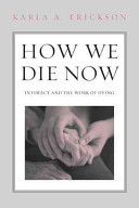 How We Die Now Book Cover