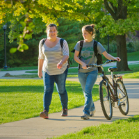 Illinois Wesleyan Named a Bicycle Friendly University