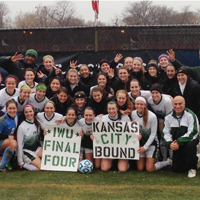 Women's Soccer Closes at Final Four