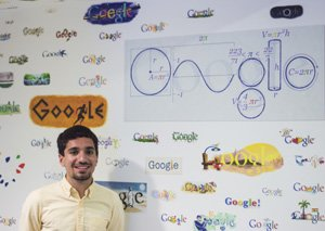 Alan Russian interns at Google