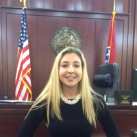 Poli Sci Major a Witness to Historic Court Case