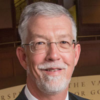 University Welcomes its 19th President on His First Day