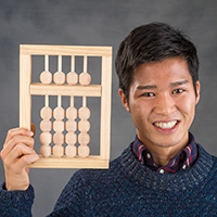 Sawada Brings Abacus Skills to Community Youth