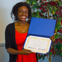Adeleye '15 Receives 2015 Technos Award