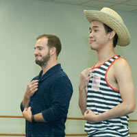 New Musical <em>GIANT</em> Features Alum Kasprzak's Choreography