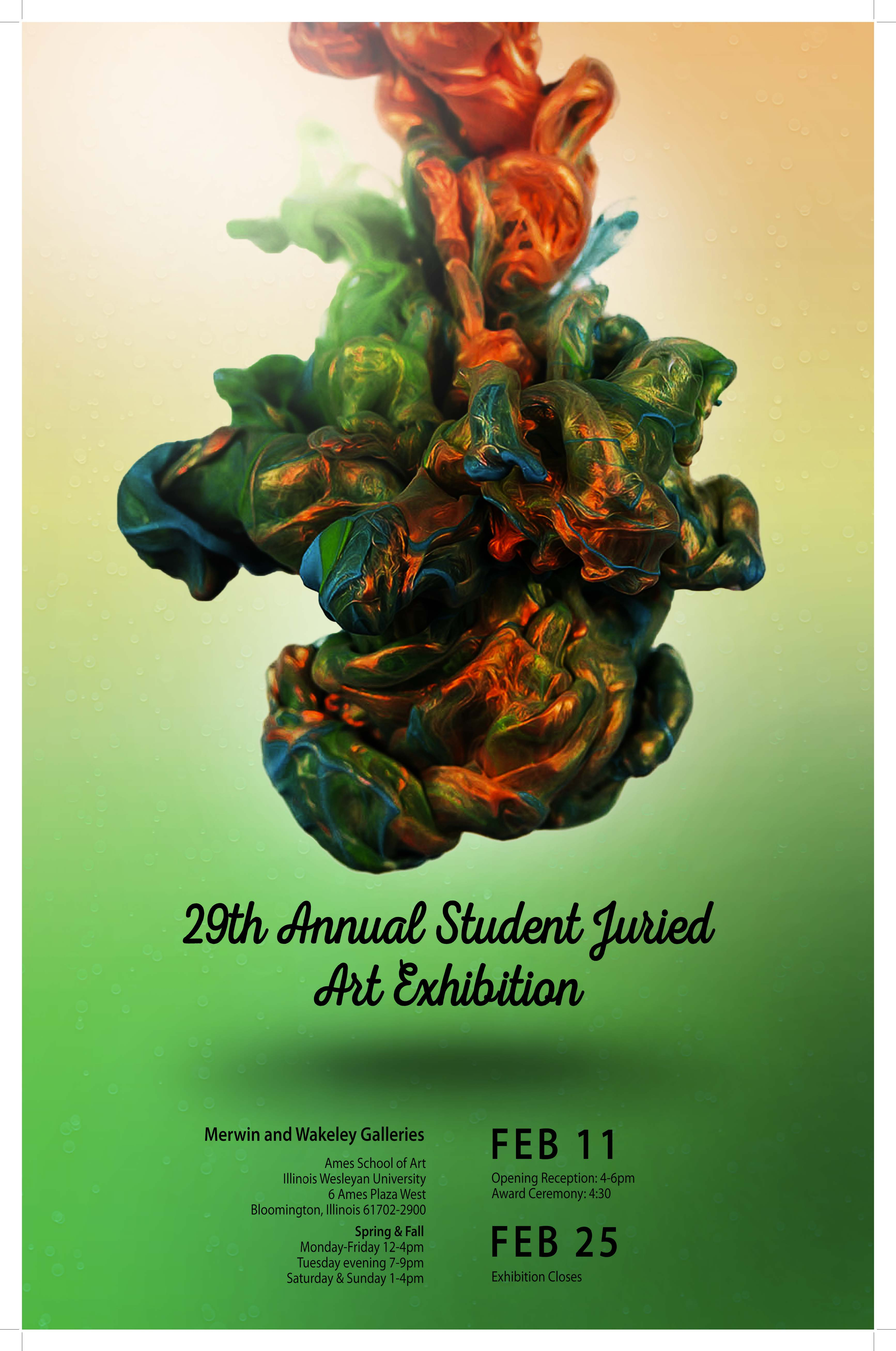 Student Art On Display During Juried Exhibition Illinois