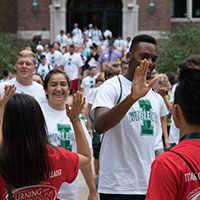 New Titans Welcomed at Convocation