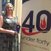 Eckhardt Receives Emerging Nurse Leader Award