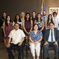 Philippine Consul General Welcomes Students Awarded Freeman Internships
