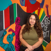 Student-Designed Mural Tells Story of Joy and Struggle
