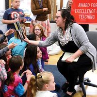 Spitzner '03 Awarded for Teaching Excellence