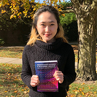 Student Designs Undergraduate Research Textbook Cover