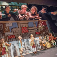 """Props"" Class Stages <em>Cinderella</em> as Puppet Theatre"