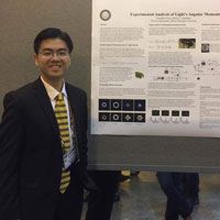 Physics Student's Research Wins Top Honor