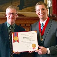 Taylor '18 Honored as 2017 Student Laureate