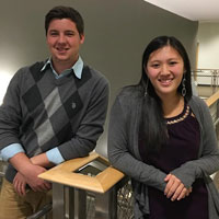 Interns Start Work During Busy Accounting Season