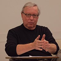Vogel '68 Discusses Journalism Credibility with Ethics Bowl Team