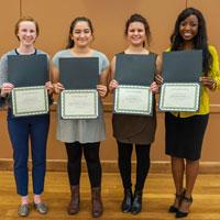 Council for IWU Women Awards Four Scholarships