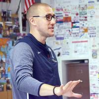 Camardella '03 Pilots Harvard Curriculum in the Classroom